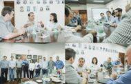 Herrera Ahuad y Arce visitaron la CCIP: se plantearon propuestas para incentivar la economía