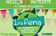 Realizarán la 1° Feria de alimentación consciente y saludable en Posadas